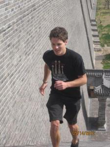 Cullen Climbing Stairs