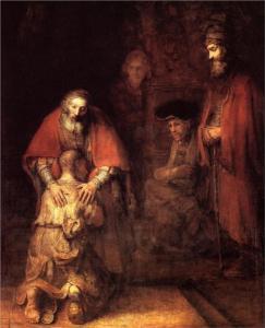 Return of the Prodigal Son by Michaelangelo